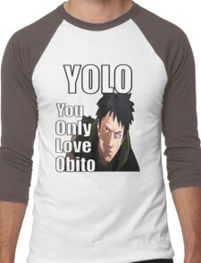 YOLO - You Only Love Obito Men's Baseball ¾ T-Shirt