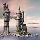 Fantasy Castle on The Sea by Liam Liberty
