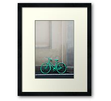 Green Cycle Framed Print