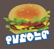 Splatfest Team Burger v.4 One Piece - Short Sleeve