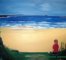 Patience - Acrylic Painting by Janette Oakman