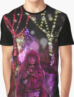 Christmas Lights Graphic T-Shirt