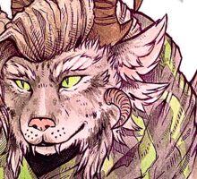 Guild Wars 2 - Charr Bust Sticker