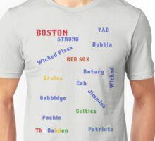Boston by word Unisex T-Shirt
