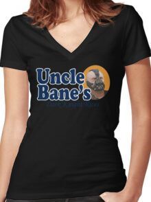 Uncle Bane's  Women's Fitted V-Neck T-Shirt