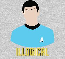 Illogical Spock Star Trek Portrait Unisex T-Shirt