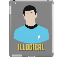 Illogical Spock Star Trek Portrait iPad Case/Skin