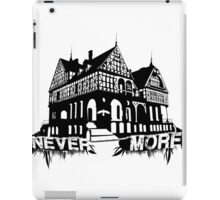 Never More Mannor iPad Case/Skin