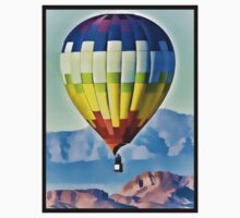 Balloon Over The Desert by tvlgoddess