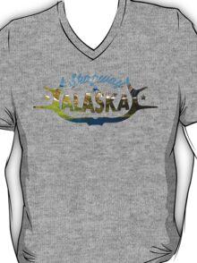 Skagway Alaska V-Neck  T-Shirt