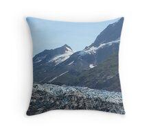 John Hopkins Glacier, Glacier National Park Throw Pillow