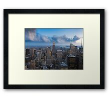 Storms and Sunsets Framed Print
