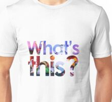 Nightmare Before Christmas - What's this? Unisex T-Shirt