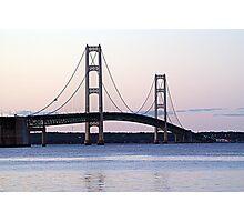 Mackinaw Bridge Photographic Print