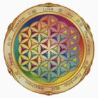 The Flower of Life - light by Lilyas