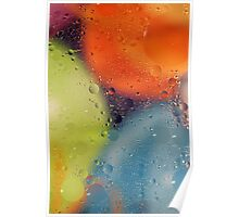 Oil Abstract Poster