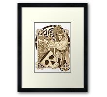 Woodland Witch Framed Print