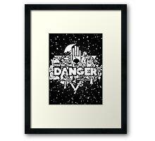 Danger Zone Framed Print