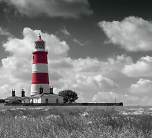 Happisburgh lighthouse by Adam North