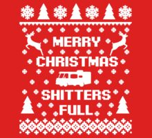 Shitters Full Merry Christmas  One Piece - Long Sleeve