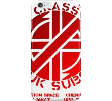 Retro Punk - Real concert cartel in london 70s iPhone Case/Skin