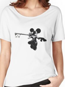Kingdom Hearts Mickey Keyblade Women's Relaxed Fit T-Shirt