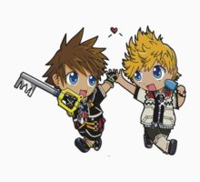 Sora And Company Kingdom Hearts Kids Clothes