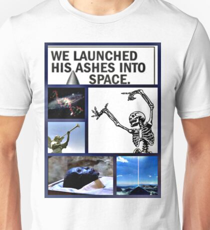 space burial Unisex T-Shirt