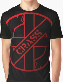 Retro Punk Restyling  Crass Graphic T-Shirt