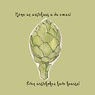 """Even artichokes have hearts"" - Amélie by alexandraliew"