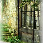 Garden Gate by Paraplu Photography