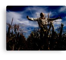 Scarecrow Fields Canvas Print