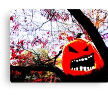 All Hallows Tree Canvas Print