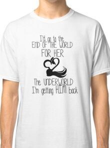 Captain Swan Love quote Classic T-Shirt