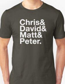 Eccleston, Tennant, Smith, Capaldi T-Shirt