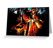 Haunted Woods Greeting Card