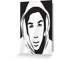 Trayvon Martin T-Shirt (Jamie Foxx As Seen On TV)  Greeting Card