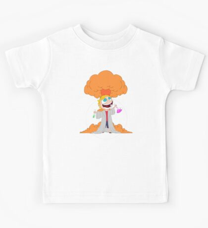 Science goes Boom! Kids Tee