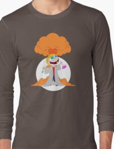 Science goes Boom! Long Sleeve T-Shirt
