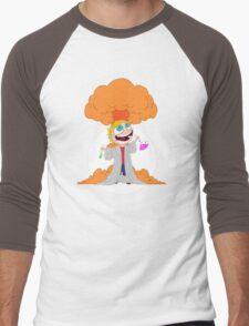 Science goes Boom! Men's Baseball ¾ T-Shirt