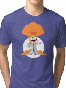 Science goes Boom! Tri-blend T-Shirt