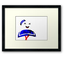 Marshmallow Man Framed Print