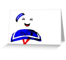Marshmallow Man Greeting Card