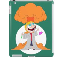 Science goes Boom! iPad Case/Skin