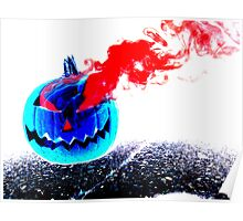 Smoke Bomb Pumpkin - Inversion Poster