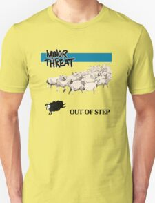 Retro Punk style Minor Threat sheeps  T-Shirt
