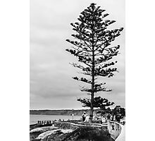Cloudy Day In La Jolla Photographic Print