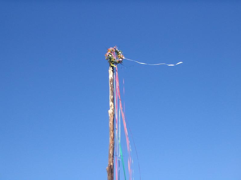 Pagan Beltane Maypole by imphavok