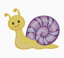 Cute cartoon snail One Piece - Short Sleeve