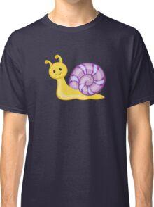 Cute cartoon snail Classic T-Shirt